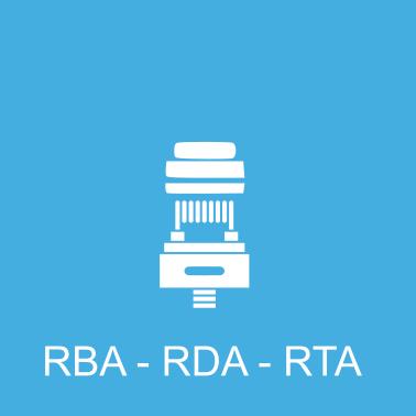 RBA RDA en RTA onderdelen voor je e-sigaret te samen te stellen