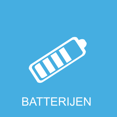 batterijen voor e-sigaretten